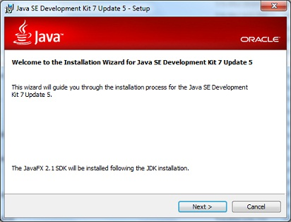 Java SE 7 Installation Setup